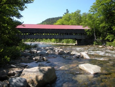 Covered bridge 399x300 New Hampshire! (mostly)