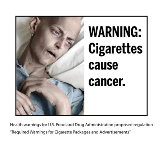 Cigarette graphic
