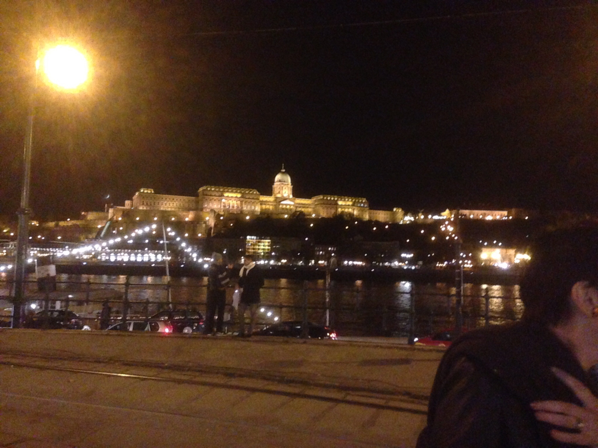 By the time we returned to Budapest it was fully dark, but it gave us a chance to get a photo of Buda Palace at night.