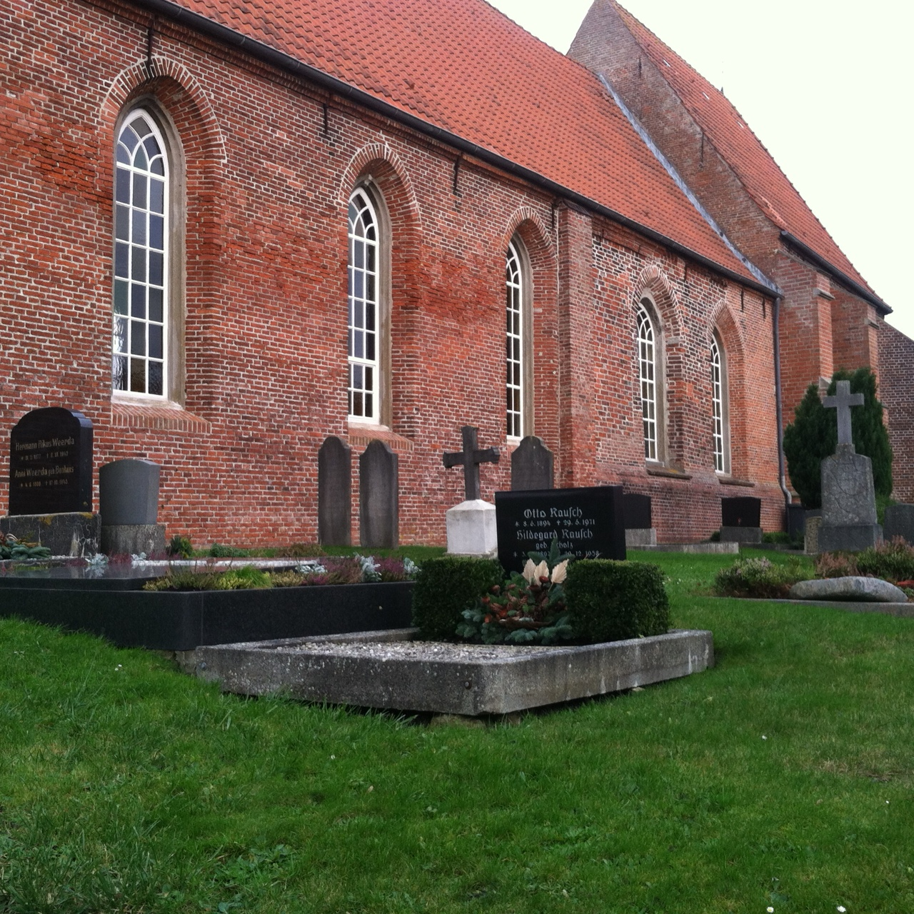 The Catholic church in Petkum, about one block from where my great-grandparents lived.